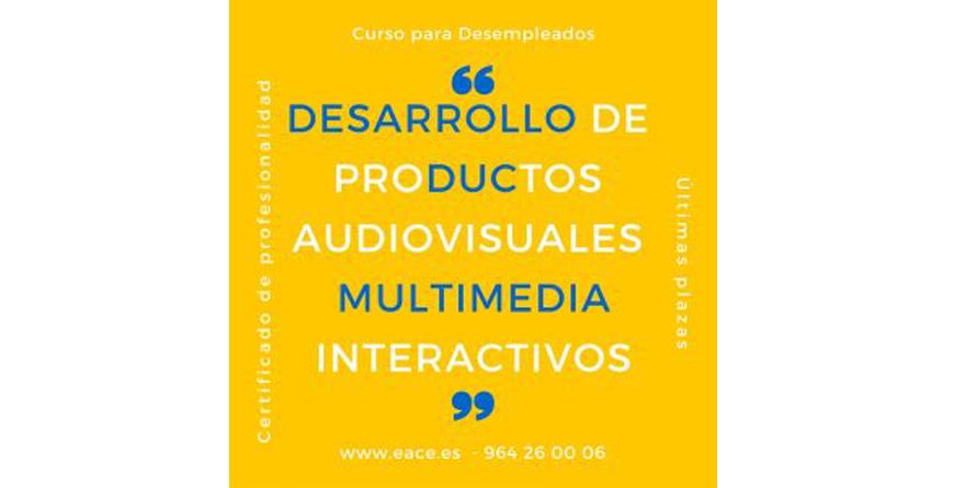 """imágen de texto: """"desarrollo de productos audiovisuales multimedia interactivos"""""""