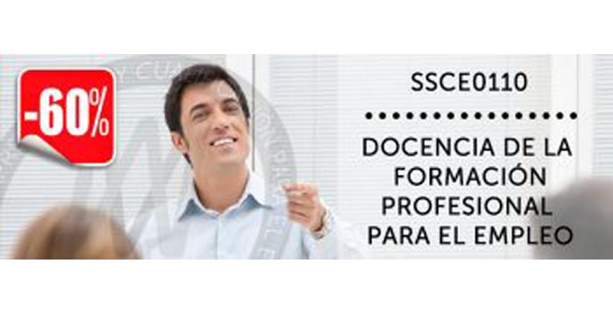 """imagen con un chico y al lado un texto:""""docencia de la formación profesional para el empleo"""""""