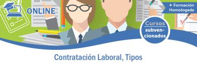 CONTRATACIÓN LABORAL, TIPOS