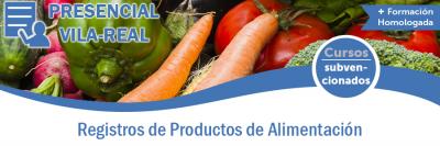 REGISTROS DE PRODUCTOS DE ALIMENTACIÓN