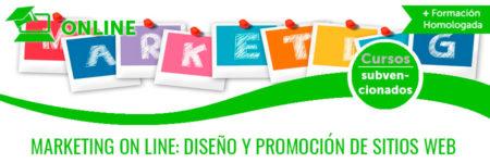 MARKETING ON LINE: DISEÑO Y PROMOCIÓN DE SITIOS WEB