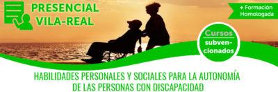 HABILIDADES PERSONALES Y SOCIALES PARA LA AUTONOMÍA DE LAS PERSONAS CON DISCAPACIDAD