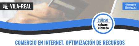COMERCIO EN INTERNET. OPTIMIZACIÓN DE RECURSOS