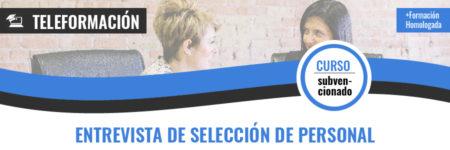 ENTREVISTA DE SELECCIÓN DE PERSONAL.
