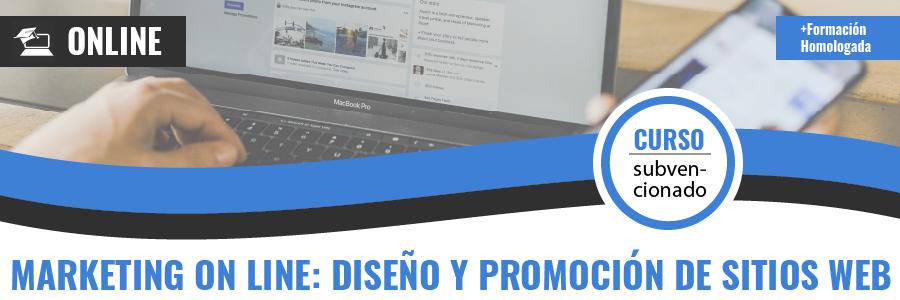 MARKETING ON LINE DISEÑO Y PROMOCIÓN DE SITIOS WEB