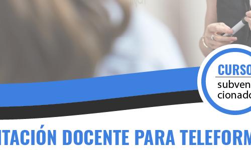 (ONLINE) ACREDITACIÓN DOCENTE PARA TELEFORMACIÓN: FORMADOR/A ON LINE