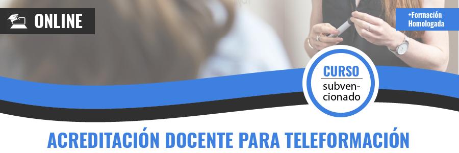 ACREDITACIÓN DOCENTE PARA TELEFORMACIÓN FORMADOR ON LINE