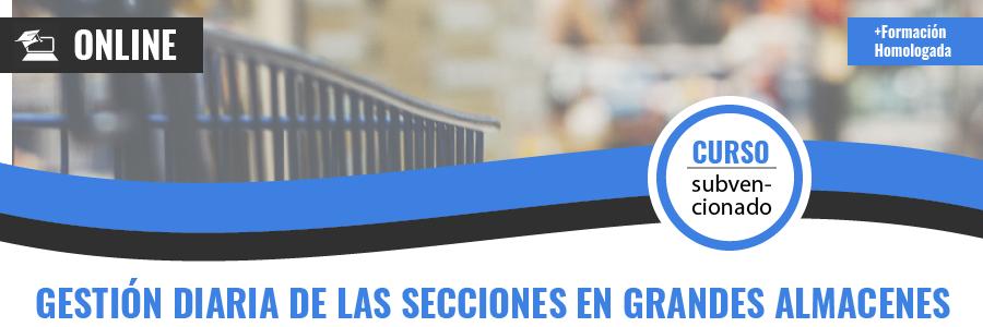 GESTIÓN DIARIA DE LAS SECCIONES EN GRANDES ALMACENES