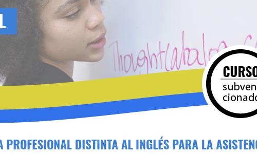 LENGUA EXTRANJERA PROFESIONAL DISTINTA DEL INGLÉS PARA LA ASISTENCIA A LA DIRECCIÓN