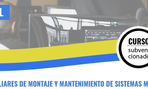 OPERACIONES AUXILIARES DE MONTAJE Y MANTENIMIENTO DE SISTEMAS MICROINFORMÁTICOS