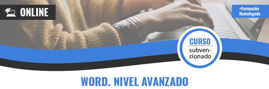 WORD. NIVEL AVANZADO